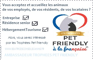Carte ambassadeur des trophees pet friendly