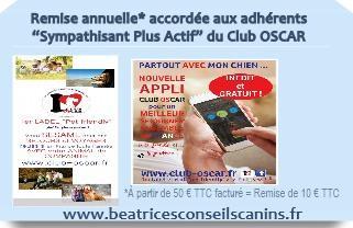 Carte pub remise annuelle club oscar adherent beatricesconseilscanins